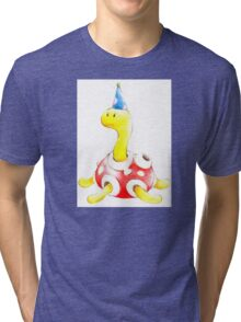 Shuckle in a Party Hat Tri-blend T-Shirt
