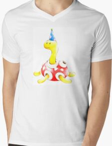 Shuckle in a Party Hat Mens V-Neck T-Shirt