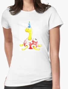 Shuckle in a Party Hat Womens Fitted T-Shirt