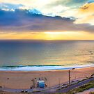 end of a sunday. Ericeira beach by terezadelpilar~ art & architecture
