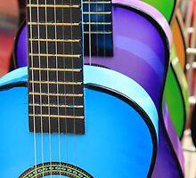 Mini Guitars by Renee D. Miranda