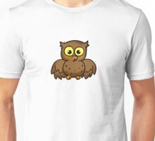 Hoot hoot owl bird cartoon Unisex T-Shirt
