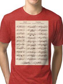 Sheet Music  Tri-blend T-Shirt