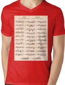Sheet Music  Mens V-Neck T-Shirt