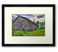 Rustic Shed Framed Print