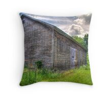 Rustic Shed Throw Pillow