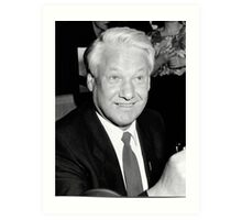 Boris Yeltsin Art Print