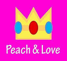 Princess Peach - Peach And Love by Dnx-Drift