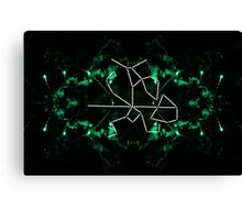 elder scrolls constellations: the warrior Canvas Print