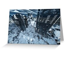 Poster-City 8 Greeting Card