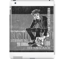 The Silent Master iPad Case/Skin