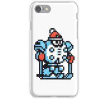blizzard man iPhone Case/Skin