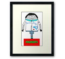 Dave O'Leary Pogoised Framed Print