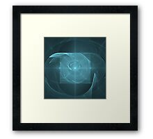 Whirlpool Torus of Infinite Love | Future Art Fashion Framed Print