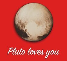 Pluto Loves You One Piece - Short Sleeve
