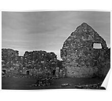 The Remains of the Priory's Buildings Poster