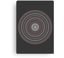 red/white Canvas Print