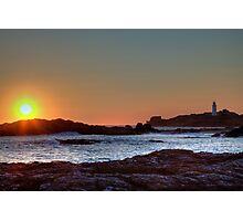 Godrevy Sunset 2 Photographic Print