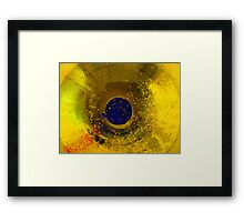 Lost in space. Framed Print