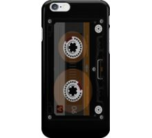 Retro Music Cassette Tape iPhone Case/Skin