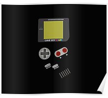 Video Retro Game Boy Console  Poster