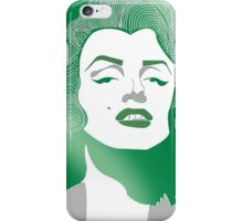 Shades of green Marilyn Monroe iPhone Case/Skin