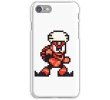 flame man iPhone Case/Skin