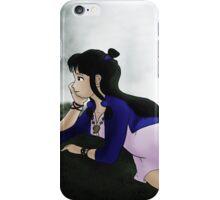 Maya Fey by the Waterfall iPhone Case/Skin