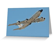 NKC-135 Airborne command and control Greeting Card