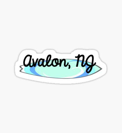 Avalon 2 Sticker