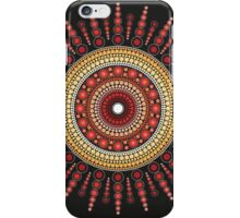 Red Star Burst iPhone Case/Skin