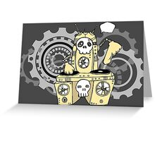 Robo DJ Greeting Card