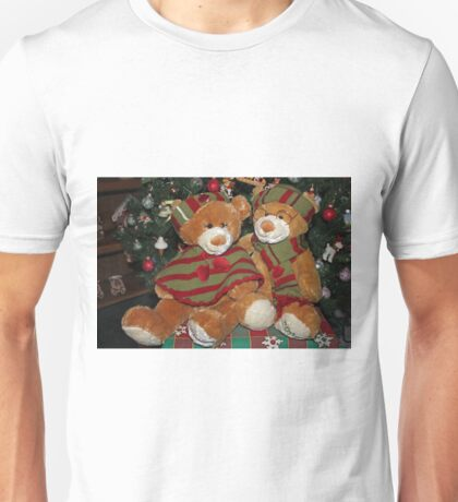 Christmas Bears Unisex T-Shirt