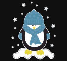 Baby It's Cold Outside [Boy Penguin] Kids Tee