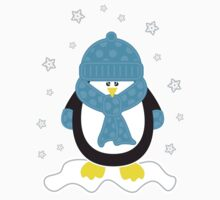 Baby It's Cold Outside [Boy Penguin] by Louise Parton