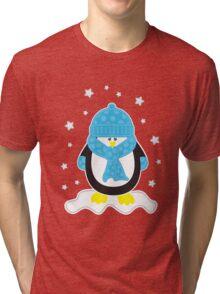 Baby It's Cold Outside [Boy Penguin] Tri-blend T-Shirt