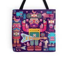 vector band and musicians  Tote Bag