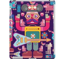 vector band and musicians  iPad Case/Skin