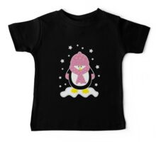 Baby It's Cold Outside [Girl Penguin] Baby Tee
