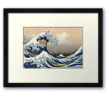 Sea is for Cookie.  Framed Print