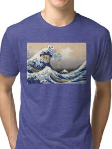 Sea is for Cookie.  Tri-blend T-Shirt