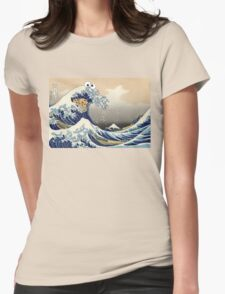 Sea is for Cookie.  Womens Fitted T-Shirt