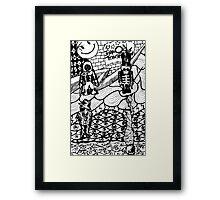 "My Chemical Romance ""doodle"" Framed Print"