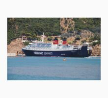 Ferry departure, Skopelos Kids Clothes