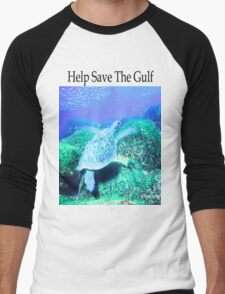 Help Save The Gulf Men's Baseball ¾ T-Shirt