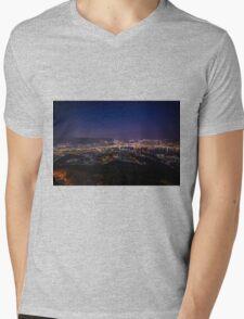 Nagasaki Night Mens V-Neck T-Shirt