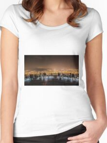 Japan View Women's Fitted Scoop T-Shirt