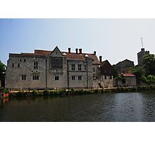 Palace and Parish Photographic Print
