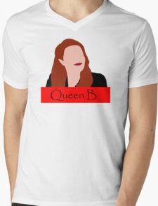 Abaddon Queen B Mens V-Neck T-Shirt