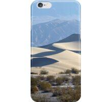 Mesquite Sand Dunes, Death Valley, USA. iPhone Case/Skin